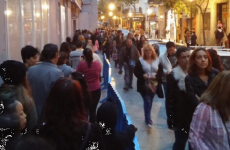 The queue for Penneys in Madrid is absolutely batshit insane