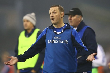 Meath man Andy McEntee masterminded a first Dublin SFC title for Ballyboden since 2009.