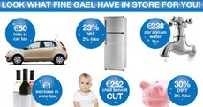 Eamon Gilmore admits he didn't pay attention to the cuts in THAT ad