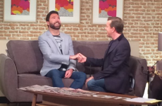 Alan Hughes just proposed to his boyfriend live on TV3 during a marriage equality discussion