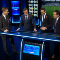 The MNF boys had a good laugh at Gabby Agbonlahor's expense last night