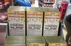 There's a 1916 chocolate bar and some people aren't happy about it