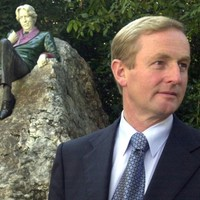Enda says there will be no statues erected in his glory
