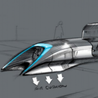 The Dublin Port Tunnel was likened to this futuristic transport idea