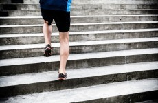 You can stay in shape with just a set of stairs and this exercise circuit