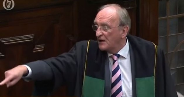 Watch: Not one, but two TDs have just been thrown out of the Dáil for getting very angry
