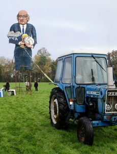 So, one English town has decided to burn a 36-foot tall Sepp Blatter effigy this year