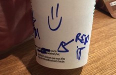 A barista's 'creepy' attempt to chat up a customer via her cup is going viral