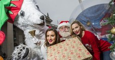 """It's November. Would you ever go home?"": Santa and some Irish models kicked off Christmas today"