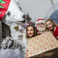 """""""It's November. Would you ever go home?"""": Santa and some Irish models kicked off Christmas today"""