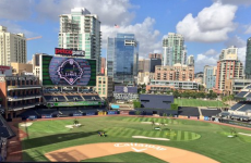 One of America's biggest baseball stadiums has been transformed into a golf course