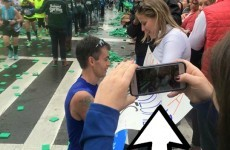 This couple is searching for the stranger who snapped the exact moment they got engaged