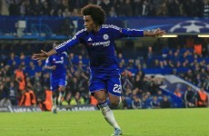 Willian comes to Mourinho's rescue with a stupendous match-winning free-kick