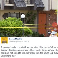 Man who posted photo of his dead wife on Facebook says he acted in self-defence