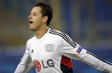 Javier Hernandez's goal last night showed Man United exactly what they're missing