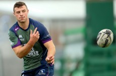 Henshaw at fullback as AJ MacGinty prepares to make Connacht debut from the bench