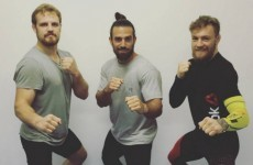 A renowned 'master of movement' has been training with Conor McGregor