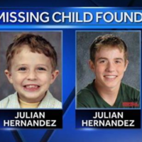 Boy who disappeared 13 years ago finally found after he applied for college