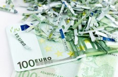 Austrian granny shreds a million euro to spite her heirs