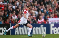 Best and Pienaar on the bench as Ulster name team to face Dragons