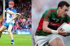 O'Connor and De Búrca claim Young Footballer and Hurler of the Year honours
