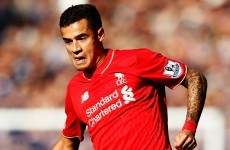 'Coutinho is one of the top five attacking players in the Premier League'