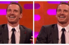 Michael Fassbender was on Graham Norton and nobody could cope