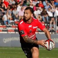 Quade Cooper pulled on a Toulon jersey for the first time today and stole the show