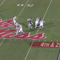 Fourth-downs just don't come any crazier than this