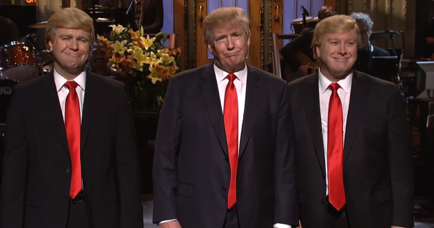 Audience members were offered $5,000 to call Donald Trump racist on Saturday Night Live last night