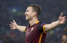More bad news for Ireland as Dzeko continues his rich vein of form in Rome derby