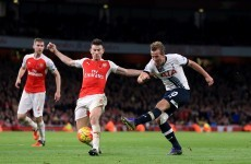 Gibbs rescues derby point for Arsenal but Gunners miss out on chance to move top