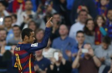 Neymar scored a goal for Barcelona that can only be described as filthy
