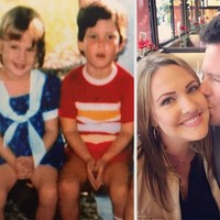 This couple met online last year and just realised they went to playschool together