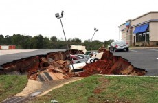 Restaurant car park opens up to swallow 12 cars