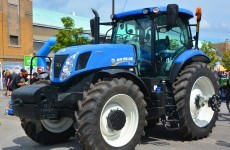 Eagle-eyed police made sure an Antrim farmer got his stolen tractor back