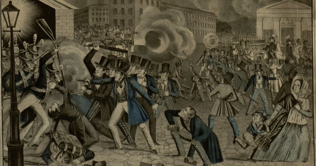 When fear and hatred of Irish Catholics set fire to an American city