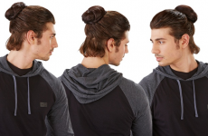Clip-on man buns are now a reality and all hope is lost