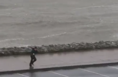 Here's how insanely windy it was in Galway yesterday