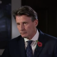 'Either you were asleep on the job, or corrupt?' - Jon Snow gives Seb Coe a grilling fit for a lord