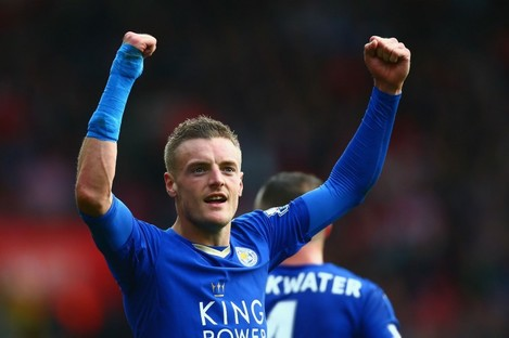 Jamie Vardy is on a incredible scoring streak at the moment.