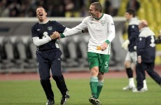 Buy Richard Dunne's famous No 5 shirt from the Russia game