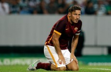 Francesco Totti paid police to ensure son wasn't kidnapped by Roma ultras