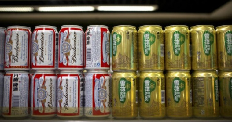 Most of the big beer brands the world drinks will soon come from just one company