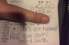 A waitress just burned this jealous woman who told her to find her own husband
