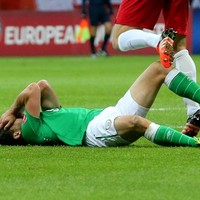 Shane Long ruled out of Friday's play-off with Bosnia but could still feature in second-leg