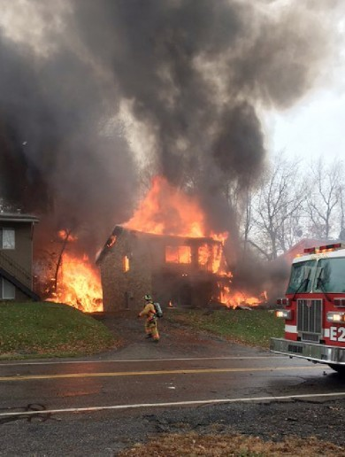 Nine killed after plane crash destroys apartment building