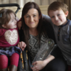 A mother whose children have a rare bone condition has won carer of the year award
