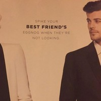 Department store criticised for ad that 'promotes date rape'