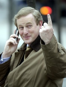 Enda Kenny is 40 years a TD today - so here are 40 photos of him pointing at things